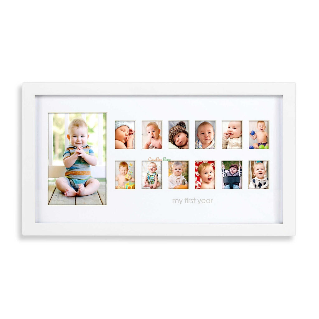 Pearhead Frames Photo Moments White - CanaBee Baby
