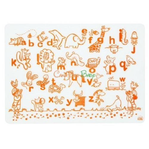Modern Twist Mini Twist Doodle Mat - Alphabet Animals - CanaBee Baby