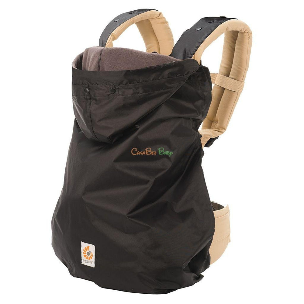 ERGObaby Winter Weather Cover - Black - CanaBee Baby