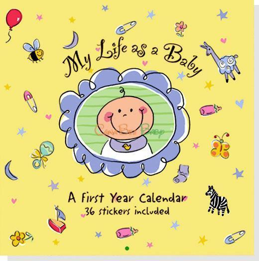 My Life As a Baby: A First-Year Calendar - CanaBee Baby