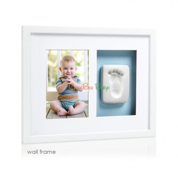 Pearhead Babyprints Wall Frames White - CanaBee Baby