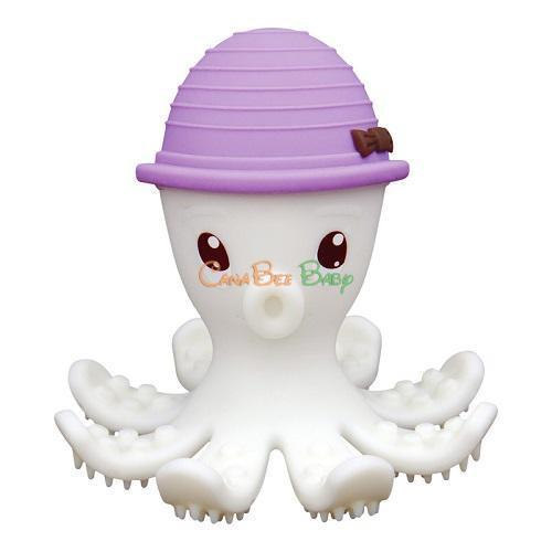Mombella Octopus Teether& Gum Massager Liliac (20033)