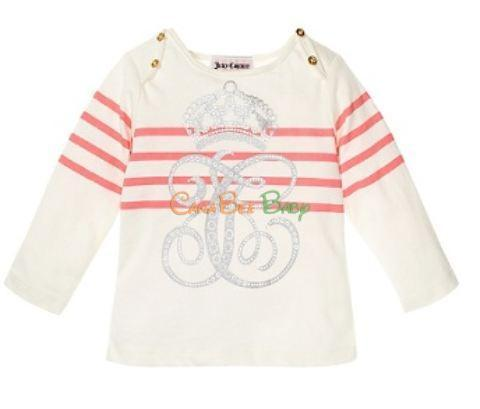 Juicy Couture Striped Logo Tee - CanaBee Baby