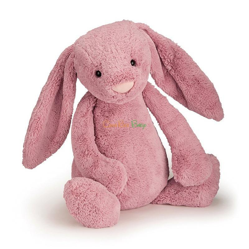 Jellycat Bashful Tulip Pink Bunny Size M - CanaBee Baby