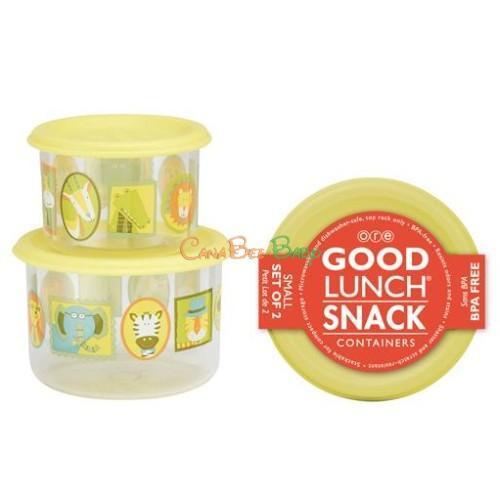 Sugarbooger Good Lunch Snack Containers Small Set-of-Two-It's a Jungle - CanaBee Baby