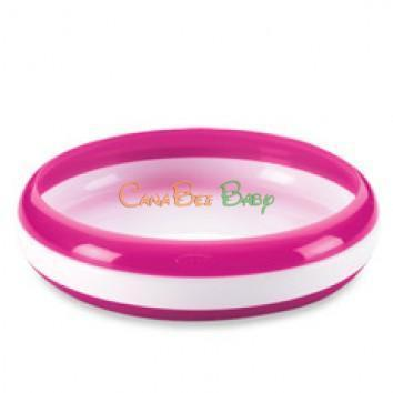 OXO Tot Training Plate - Pink - CanaBee Baby