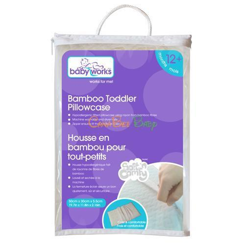 Baby Works Bamboo Toddler Pillow Case - CanaBee Baby