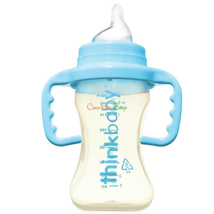 Thinkbaby Sippy Cup Stage C 9oz - Light Blue - CanaBee Baby