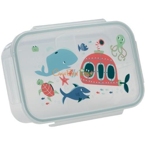 Sugarbooger Good Lunch Bento Box - Ocean - CanaBee Baby