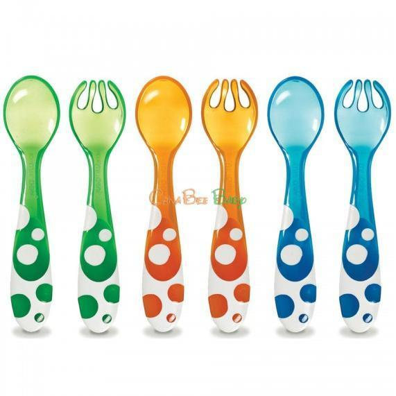 Munchkin Multi Forks and Spoons 6pk - CanaBee Baby