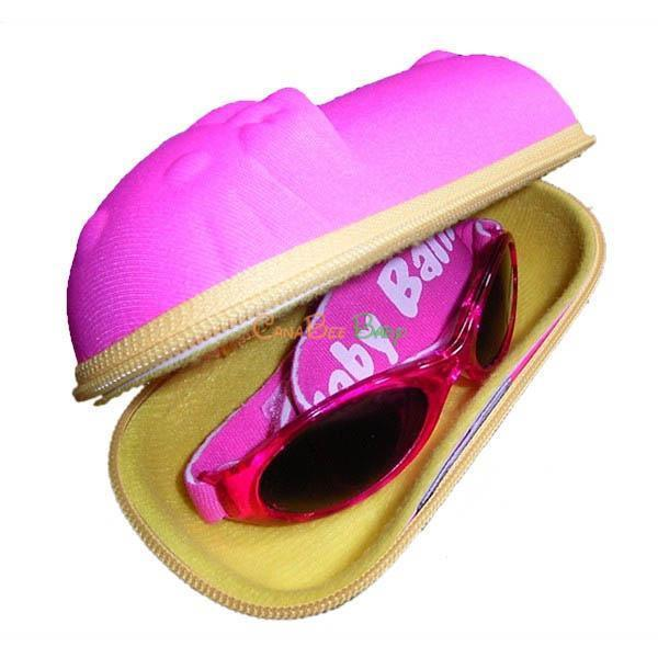 Baby Banz Sunglasses Carry Case-Pink Kitty - CanaBee Baby