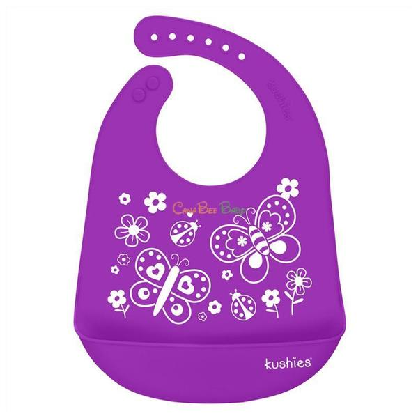 Kushies Silicatch Bib (Assorted)