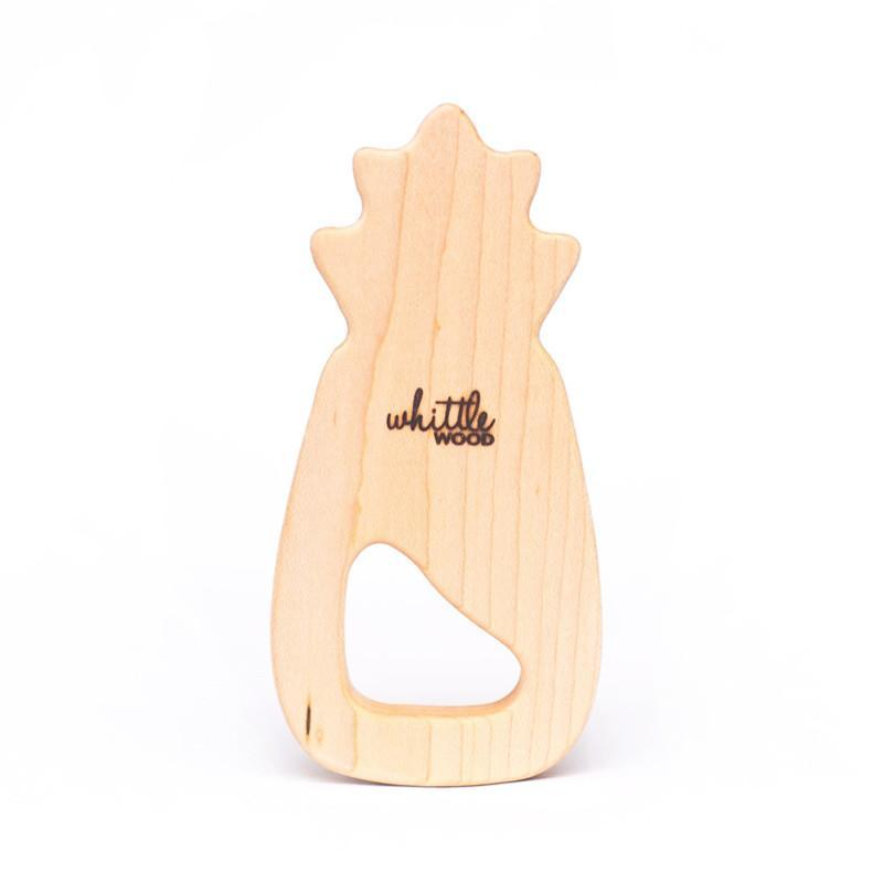 Whittle Wood Teether - Colada - CanaBee Baby