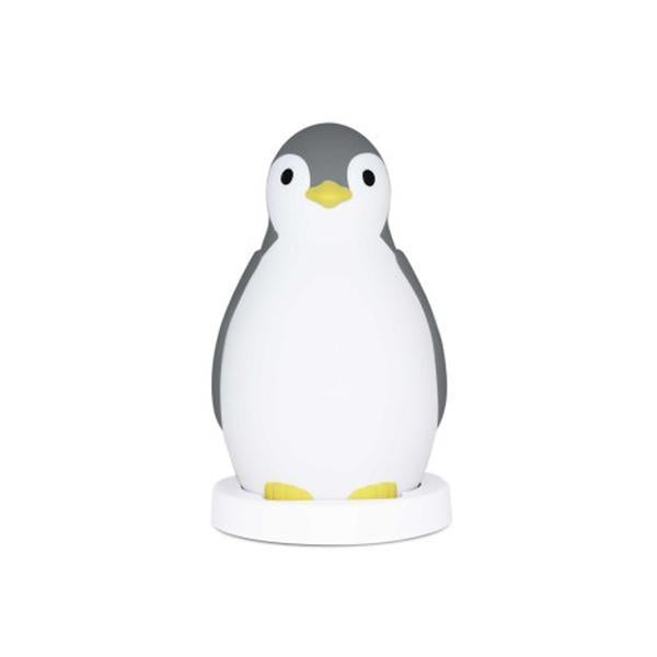 Zazu PAM the Penguin Sleeptrainer & Nightlight with Bluetooth - Grey