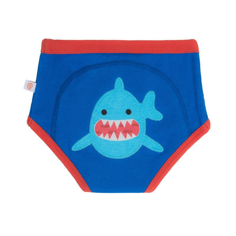 Zoocchini Training Pants - Sherman The Shark 3t/4t - CanaBee Baby