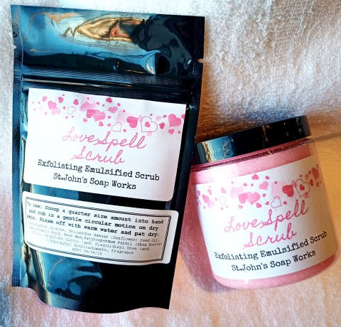 Love Spell Emulsified Scrub