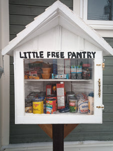 Donation to the Free Little Pantry