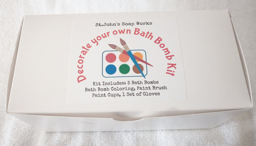 Bath Bomb Decorating Kit