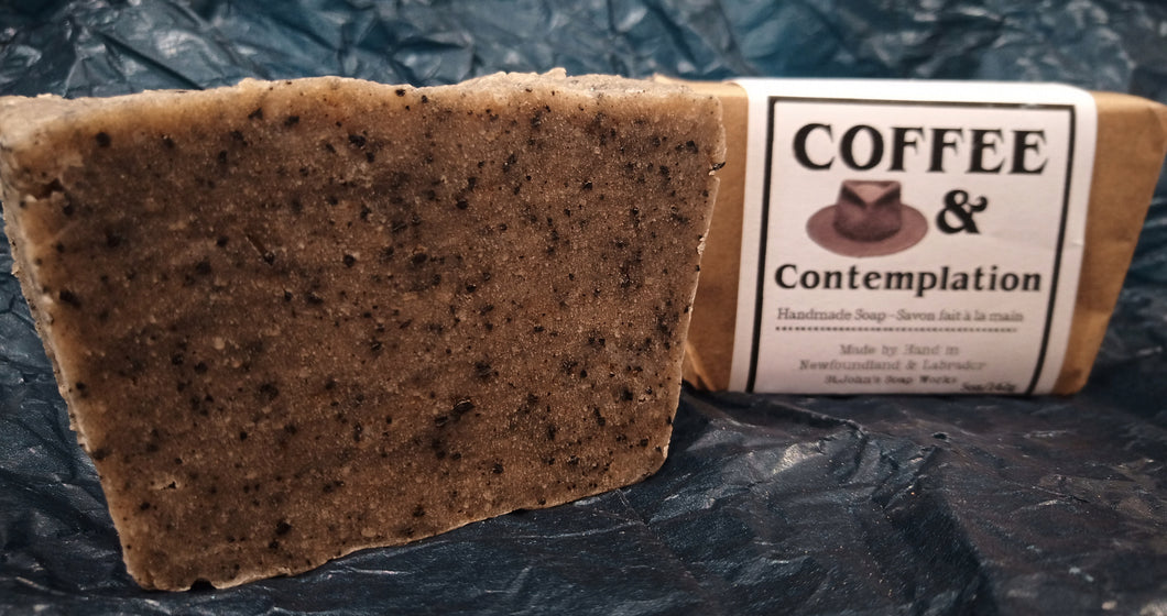 Coffee & Contemplation Handmade Soap