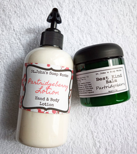 Best Kind Partridgeberry Jam Lotion