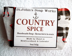 Country Spice Homemade Soap