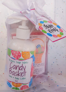 Easter Lotion and Scrub set