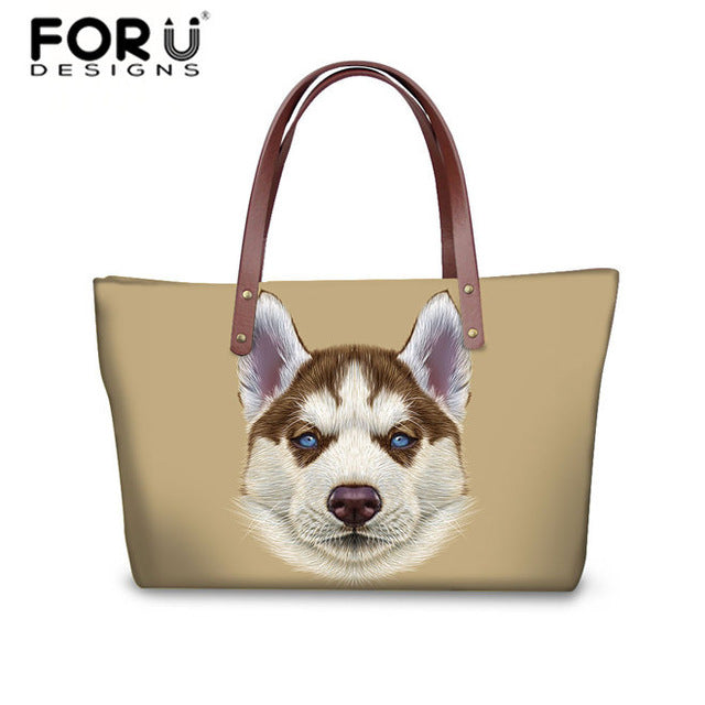 Husky Shoulder Bag Women Casual Handbag