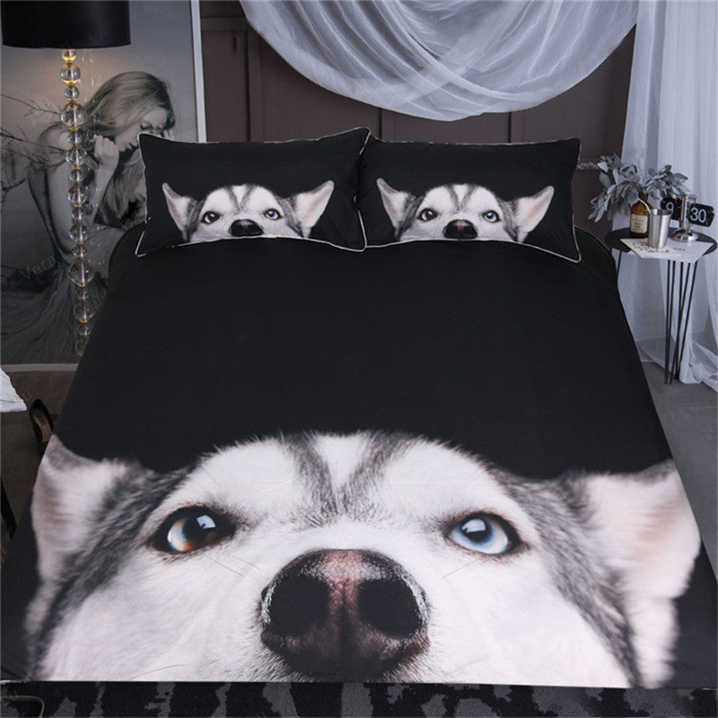 Husky Bedding Set
