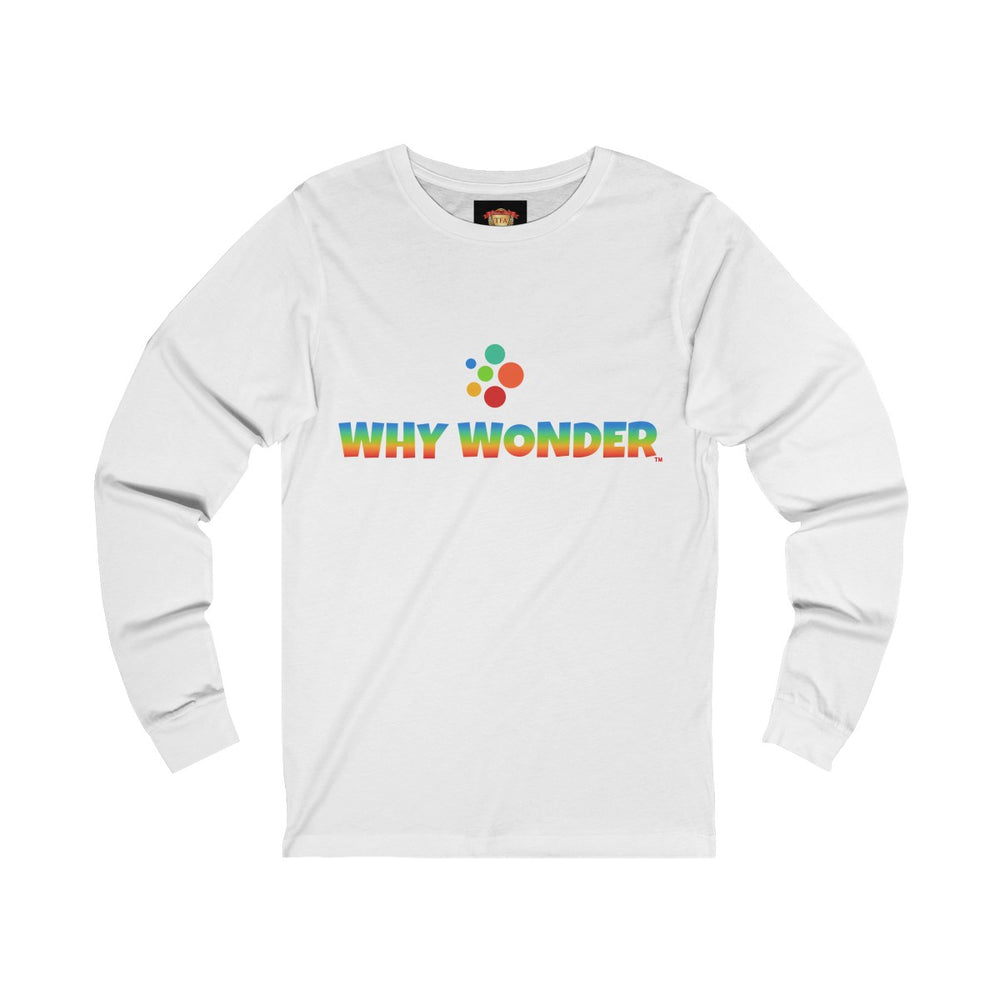 Why Wonder Unisex Jersey Long Sleeve Tee