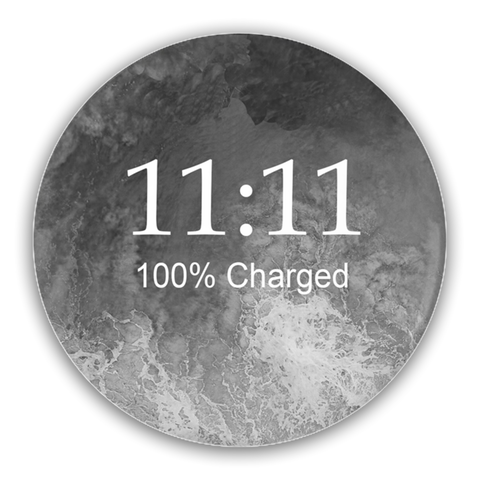 11:11 Pin-Back Button