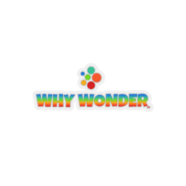 Why Wonder Kiss-Cut Stickers