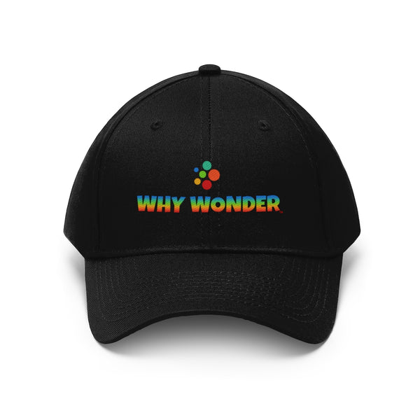 Why Wonder Unisex Twill Hat