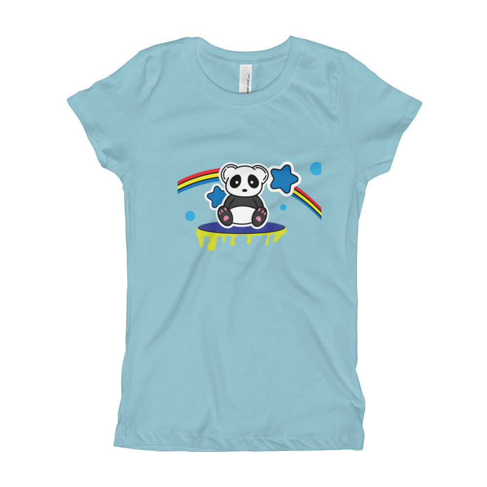 Trippy Panda Girl's T-Shirt