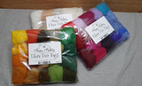 Fibre Fun Bags - over 200g of fantastic felting fluff!