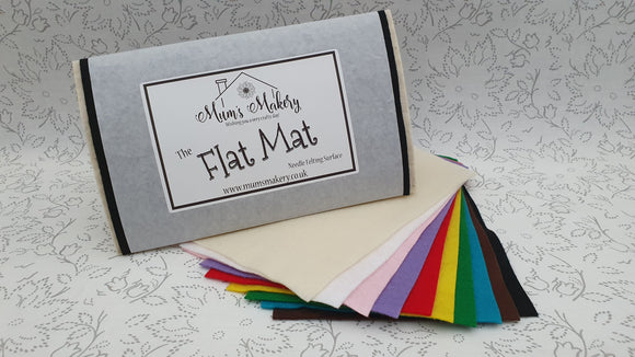 Flat Mat - Needle Felting Surface / Felting Mat