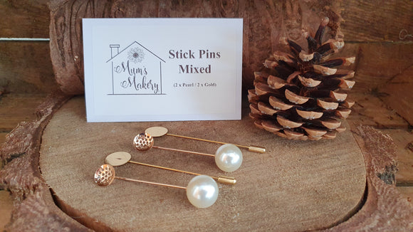Brooch / Lapel / Stick Pins