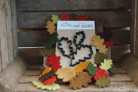 Oak Leaves - Needle Felting Template Set