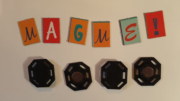 MagMe for needle felting fridge magnets