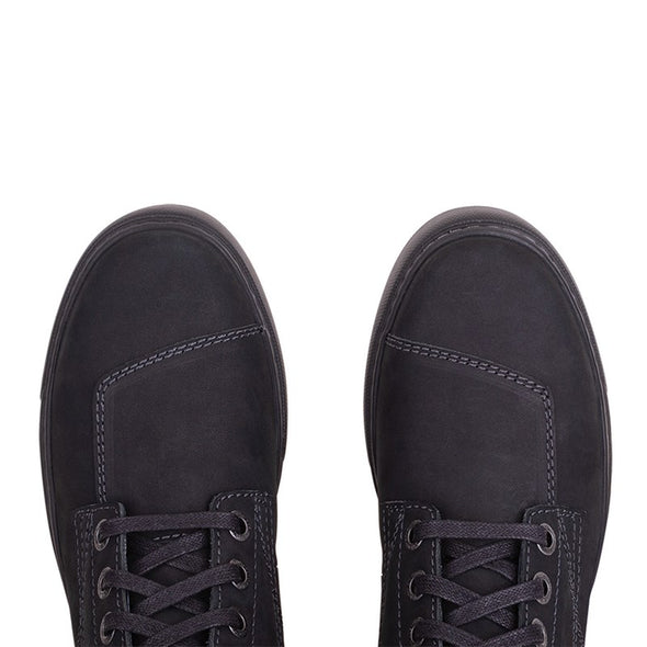 Women's Leather Bryant Sneaker -Black