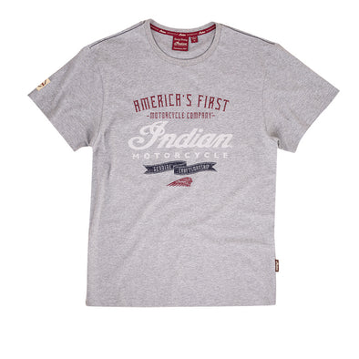 Men's Crafted T-Shirt -Gray