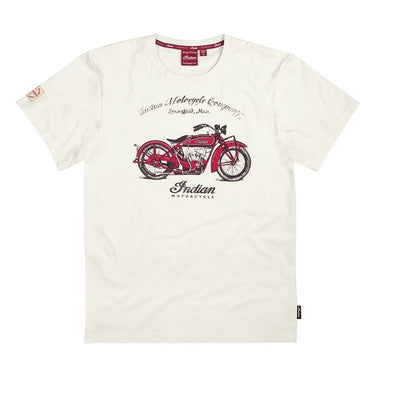 Men's 1920 Scout Bike T-Shirt -White