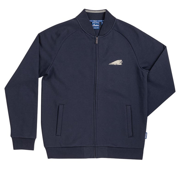 Men's Bomber Zip Thru-Navy