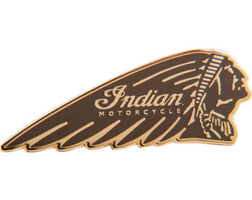 Headress Pin Badge - Tan