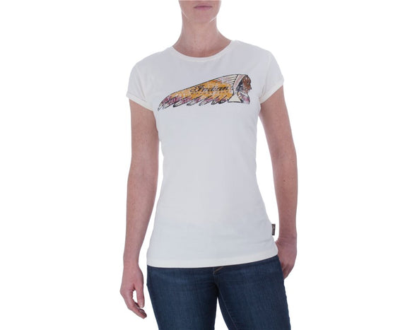 Womens Headdress Tee by Indian Motorcycle
