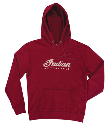 Womens Logo Hoodie - Red by Indian Motorcycle