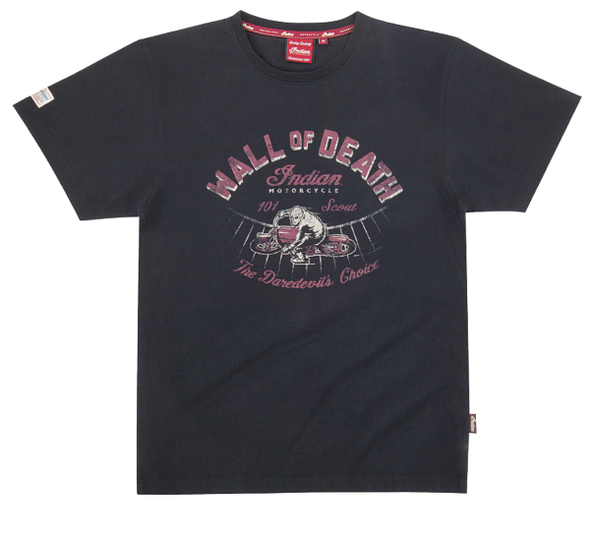 Scout Wall Of Death Tee Size S