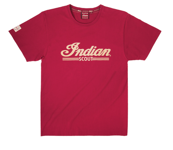 Men's Scout Logo T-Shirt -Red