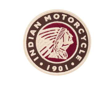 Indian Motorcycle Circle Icon Patch