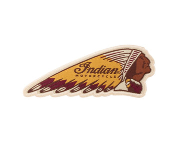 Indian Motorcycle Headdress Patch