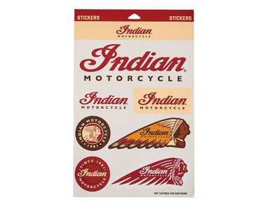 Indian Motorcycle - Sticker Set